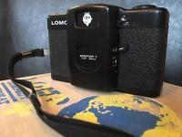 Lomo LC-A+ Compact Camera, colour splash flash and film