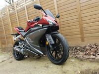 Yamaha YZF R125 ABS, 2017, 12 Months MOT ,LOW Price ,Very good condition (not honda cbr 125 )