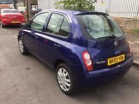 NISSAN MICRA 1.2 AUTOMATIC 5 DOOR EXCELLENT ENGINE AND GEARBOX NO FAULTS HPI CLEAR LOW MILEAGE