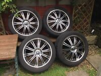 "Wolfrace Vermont 20"" alloy wheels for sale"