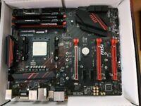 AMD Ryzen 5 1600, MSI X470 Gaming Plus AM4
