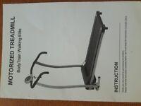 Foldaway Treadmill