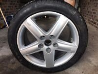 "Audi 17"" Alloy with Tyre 235/45/17"