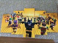 Five piece Lego Batman canvas