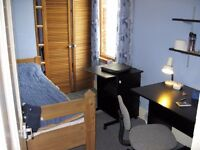 Single Room - East Central Oxford. Short let 1-4 weeks from 1 August. International student.