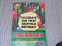 Chessington £10 entry tickets - valid until 4th May