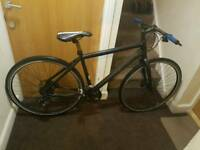 Cannondale Hybrid bike with hydraulic brakes