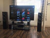 "LG4k oled 65"" speakers amp cd PS4 pro full set up"