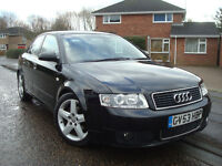 AUDI A4 1.9 TDI 130 BHP 6 SP S LINE SPORT,SALOON,2 FORMER KEEPERS,110.000 Miles,FULL SERVICE HISTORY