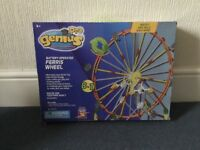 Construction game. Battery operated wheel construction game.