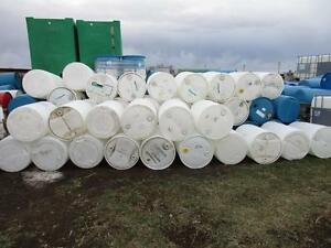 PLASTIC BARRELS/ TOTES AND METAL BARRELS/ SEALED BARRELS LETHBRIDGE