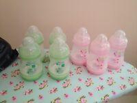 7 MAM bottles