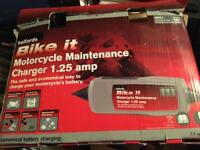 Bike trickle battery charger