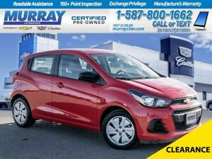 2016 Chevrolet Spark LS**Low kms!  Rear View Camera!**