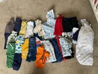 Large bundle of boys 12-18months clothes