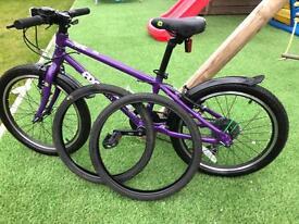 Frog 55 child's bike in Purple