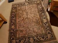 Silk rug 132 x 180cm