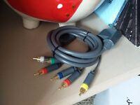 Xbox 360 HDMI component cable