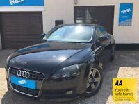 Audi TT 2.0 TFSI 3dr Black 2006(56) - 12 Months MOT, FREE 12 Months AA Breakdown
