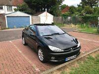 2003 Peugeot 206 CC 2.0 SE 2dr Manual 2.0L @07445775115@