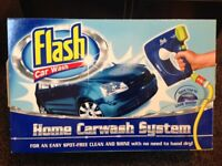 Flash car wash