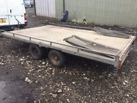 TILT BED PLANT TRAILER COMES WITH RAMPS