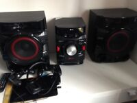 Lg high performance hi fi perfect condition