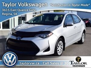 2017 Toyota Corolla 4-door Sedan LE CVTi-S Christmas Clearance S