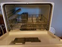 Dishwasher (small) sit on top of work surface