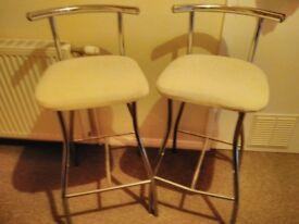 Kitchen/Bar stools x2