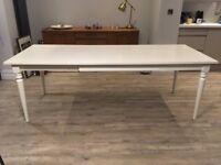 Ikea Ingatorp Extendable Dining Table (White)