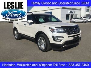 2017 Ford Explorer Limited   4WD   One Owner   Heated Seats