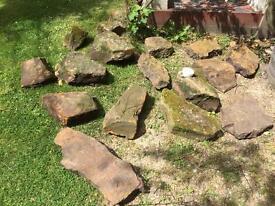 Large Rockery Stones £8.00 each