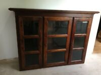 M & S MARKS AND SPENCER DRESSER TOP WALL CUPBOARD DISPLAY UNIT