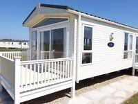 Static Caravan for sale Skegness Ingoldmells Chapel. already sited including deck - no change over