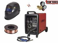 Sealey SUPERMIG180 MIG Welder 180A 230V + 5Kg Wire + Auto-Darkening Helmet