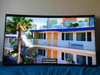 Samsung 55 inch curved LED smart TV 4K in very good condition