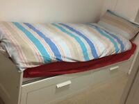 White single day bed - REDUCED