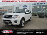 2016 Ford Expedition Platinum DEMO 4X4 NAV REAR VIEW CAMERA SYNC