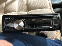 Jvc kd-r851bt car stereo cd usb aux face off bluetooth
