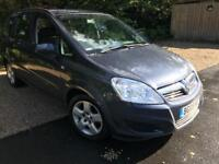 Vauxhall Zafira 1.6 exclusive **FULL SERVICE HISTORY**