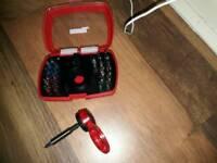 Miniture screwdriver set