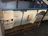 Delfield low level fridge underbroiler