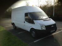 FORD TRANSIT 100 T350L RWD MEDIUM ROOF IN WHITE