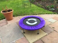 """Adult Rebounder as new only used a few times. 33"""" across."""