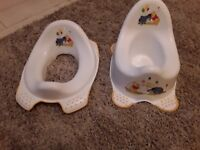 Winnie Pooh potty and training seat
