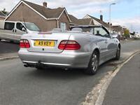 Mercedes CLK320 Convertible