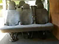 Three seater van seats for transit vans