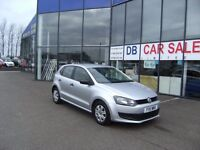 2011 11 VOLKSWAGEN POLO 1.2 S A/C 5D 70 BHP **** GUARANTEED FINANCE **** PART EX WELCOME
