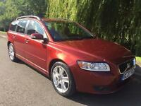 VOLVO V50 SE D DIESEL 6 SPEED ESTATE CAR FULL MOT FULL SERVICE HISTORY IMMACULATE